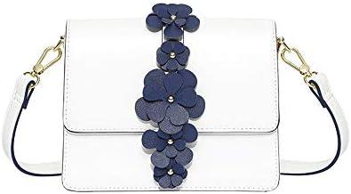 ワイルドホワイトのシンプルな森スモールバッグ小さな新鮮なガールバッグシングルショルダー大容量のメッセンジャーバッグ韓国語バージョン (Color : B)