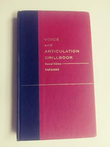 Voice and Articulation Drillbook