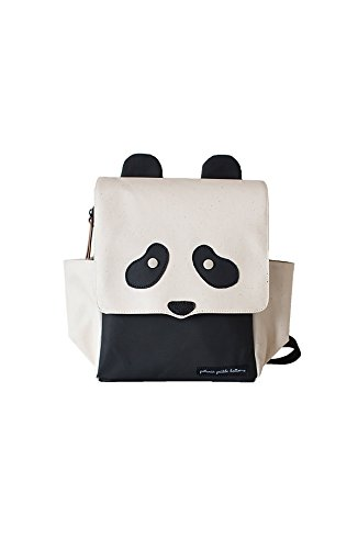 Petunia Pickle Bottom Mini Me Critter Pack, Black Panda