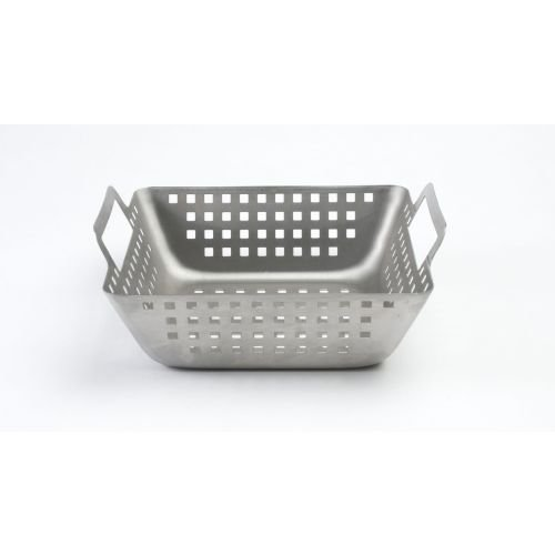 Charcoal Companion Stainless Square Wok (Small) - CC3513 by Charcoal Companion