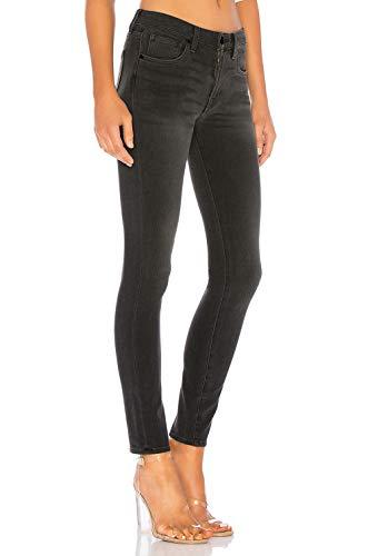 Alta Donna Elastico In Vita A Pantaloni H Jeans Skinny Hiamigos Elasticizzati Grigio Denim OYExRF