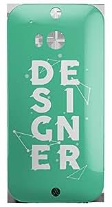 Designers HTC One M8 3D wrap around Case - Designer