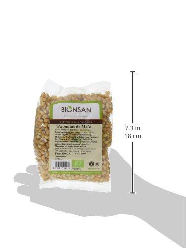 Bionsan Maíz para Palomitas - 4 Paquetes de 500 gr - Total: 2000 gr: Amazon.es: Alimentación y bebidas