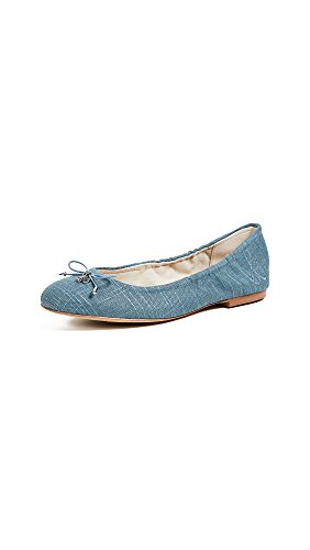 Sam Edelman Womens Felicia Ballet Flat Denim Blue
