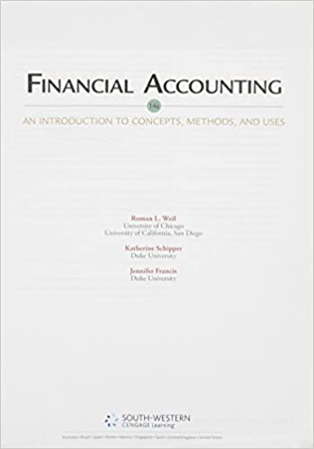 Financial accounting an introduction to concepts methods and uses financial accounting an introduction to concepts methods and uses 9781133366171 economics books amazon fandeluxe