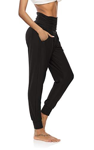 DIBAOLONG Womens Yoga Sweatpants Loose Workout Joggers Pants Comfy Lounge Pants with Pockets