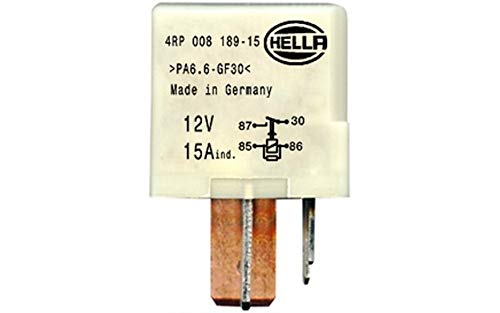 HELLA 4RP 008 189-151 Relais, Kraftstoffpumpe, 12V Hella KGaA Hueck & Co.