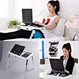 Kakde's & Co. E Table - Foldable & Portable Laptop Stand High Quality Table