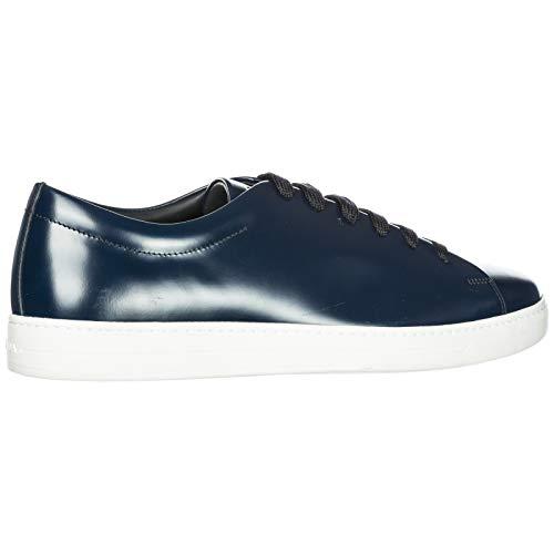Sneakers Herren Rois Leder Spazzolato Prada Blu Schuhe Herrenschuhe aIUYYqp