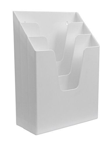 Acrimet Vertical File Folder Organizer (White Color) by Acrimet