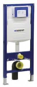 Duravit 111335001 Geberit In-Wall Carrier for Wall Mounted Toilets