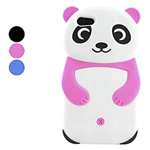LZX Panda Design Soft Case for iPhone 5 (Assorted Colors) , Blue