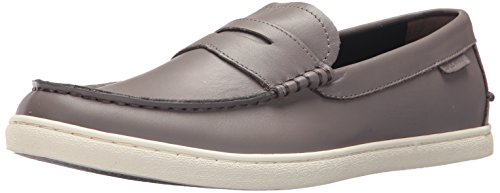 Cole Haan Mens Nantucket Cuoio Fannullone Stormcloud