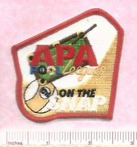 APA American Pool Players Association Pool Leagues On The Snap 9 Ball Patch by HighQ Store ()