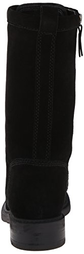 Lace West Nine Ankle Suede Gunner Boot Women's up Black wwpIZq