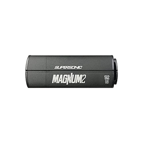 Patriot 512GB Supersonic Magnum 2 USB 3.0 Flash Drive With Up To Read 400MB/sec & Write 300MB/sec- PEF512GSMN2USB
