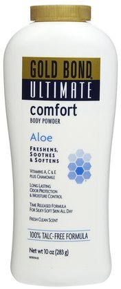 - Gold Bond Ultimate Comfort Body Powder-10 oz (Quantity of 3)