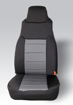 Pair Rugged Ridge 13210.01 Black Custom Neoprene Front Seat Cover