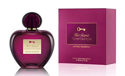 Antonio Banderas Her Secret Temptation Eau de Toilette 80ML Perfumes
