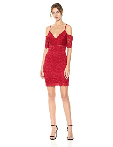 Shoulder Lace Scooter Women's The Marcy GUESS Off Dress fqvSnw7