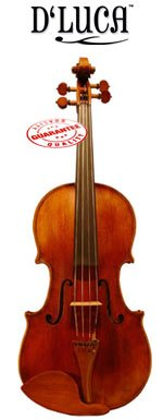 D'Luca CA800AT 16-Inch Orchestral Series Professional Antique Handmade Full Size Viola by D'Luca