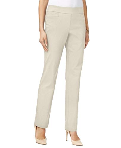 JM Collection Petite Pull-On Pants (Stonewall, PXL)