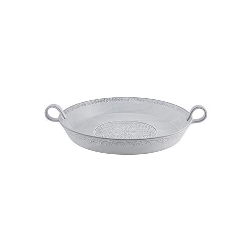 Bordallo Pinheiro RUA Nova Salad Bowl 35, White Antique