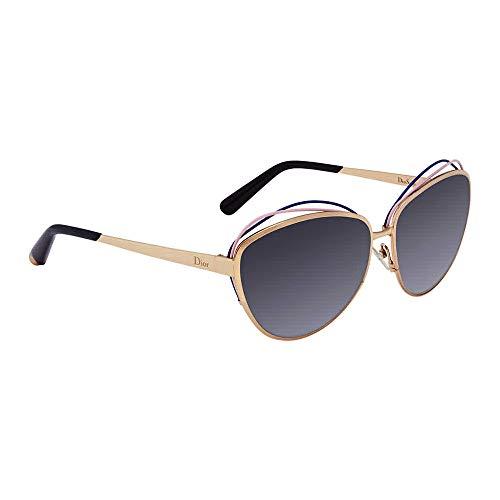 Sunglasses Christian Dior SONGE Gold Cat-eye