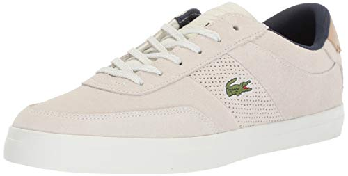 - Lacoste Men's Court-Master Sneaker, Off White/Natural, 7 Medium US