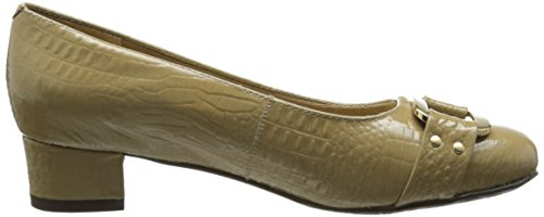 Trotters Signature Women's Pump Croco Doris Taupe r8gd6nrx