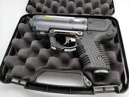 Firestorm JPX 6 Four Shot Compact Pepper Spray Gun with LED Laser by Piexon