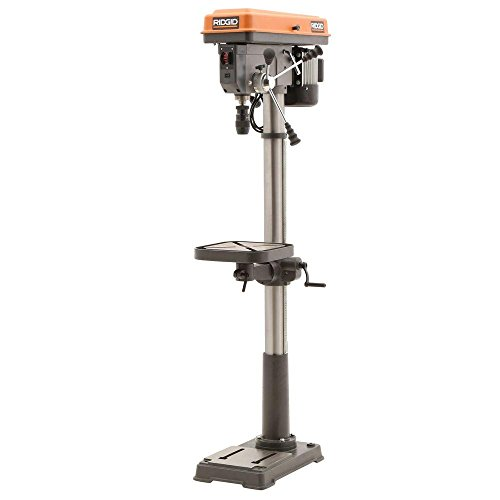 (RIDGID 15 in. Drill Press with LED)