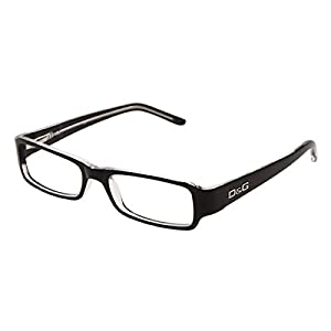 D&G DD1146 Eyeglasses-675 Black/Crystal-52mm