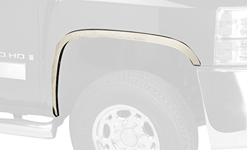 Putco 97296GM Stainless Steel Fender Trim Kit for Chevrolet Silverado