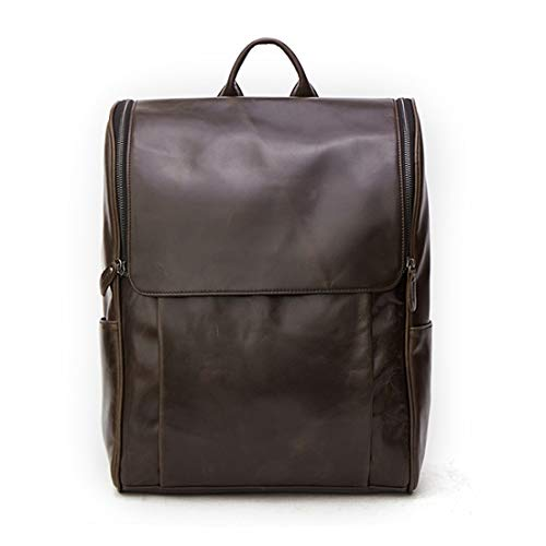 Business Al Shoulder Cuero Laptop Agua College Hombres De Gray Sintético Mochila Shiduoli Antirrobo Black Resistente color Green Para ztqpw5xgt