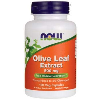 NOW Foods Olive Leaf Extract 500 mg-120 Vegi Caps Review