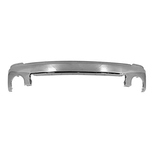 MBI AUTO - Chrome, Steel Front Bumper Face Bar for 2007-2013 GMC Sierra 1500 Pickup 07-13, ()