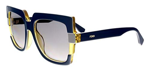 FENDI Sunglasses 0062/S 0MTW Blue Gray ()