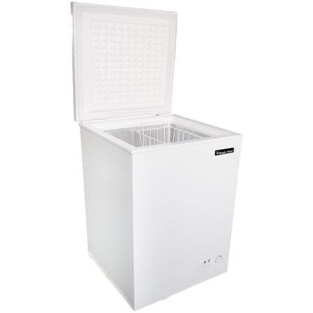 Magic Chef Mccf35w2 3.5 cu ft Manual Defrost Chest Freezer, White