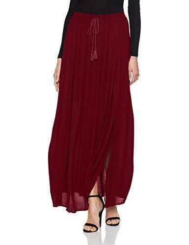 Springfield 6882625, falda para Mujer, Rojo (Red), Medium (Tamaño ...