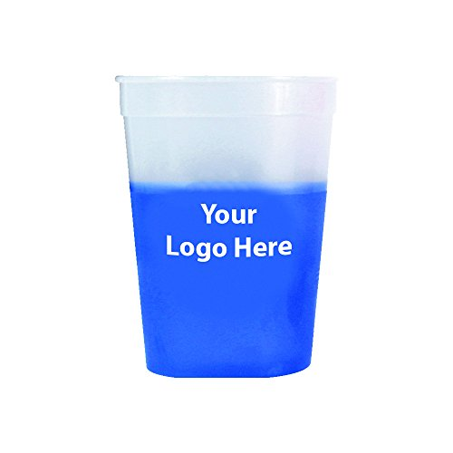 Personalized Stadium Cups - 12 Oz. Mood Stadium Cup – 150 Quantity - $0.80 Each - PROMOTIONAL PRODUCT/BULK with YOUR LOGO/CUSTOMIZED