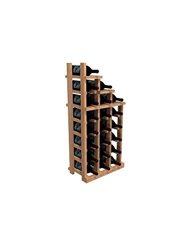 WineMaker Series Wine Rack – Waterfall Falling Right 2 – Pine Light Stain Review