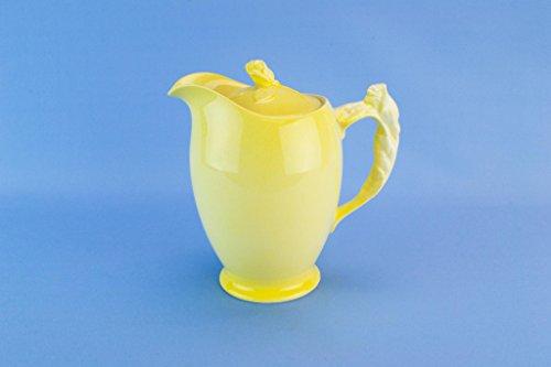 Royal Winton Grimwades Yellow Ceramic Jug Lid Vintage English 1950s
