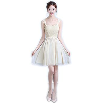 8296d94bab Sweet Memory Short Bridesmaid Dresses 5 Styles Wedding Party Dress Elastic  Design Champagne Dress (L