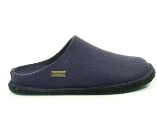 Haflinger Unisex-adult Flair Zachte Slippers Purple