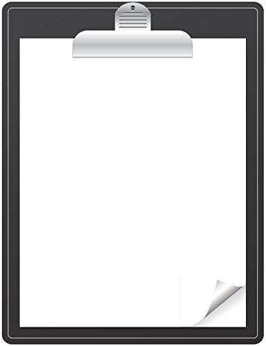 2282e88d4ff Dry Erase White Magnetic Sheet Clipboard design - 8.5 quot  x 11 quot  -  Magnetic White