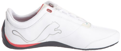 4 Sneakers Drift 01 White SF rosso Sportive 304189 Corsa Carbon Puma Herren Cat Weiss FE8xaaH