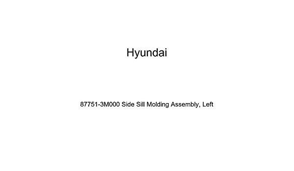Front Genuine Hyundai 87751-25700 Side Sill Molding Assembly Left