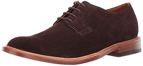 Bostonian Men's No16 Soft Low Oxford, Chocolate Suede, 105 M US