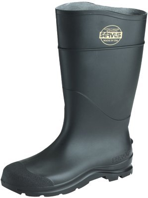 Norcross Safety 18822-14 Plain Toe Pvc Boot, Size 14, Black by Norcross